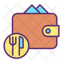 Food Payment Bill Icon