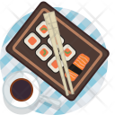 Food Plate Tablecloth Icon