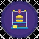 Food Printer Icon
