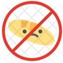 Food Fasting Forbidden Prohibited Icon