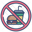 Food Prohibited Not Allowed Food Icon