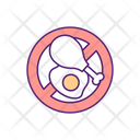 Restriction Food Fasting Icon