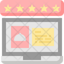 Review Ratings Feedback Icon