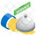Food Delivery Food Service Hotel Service Icon