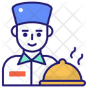 Food Service Hotel Service Meal Icon