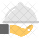 Food Serving Service Icon
