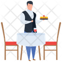 Hot Food Platter Restaurant Icon