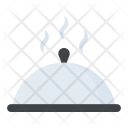 Cloche Food Platter Icon
