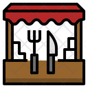 Food Shop Canteen Icon