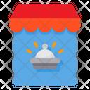 Reciept Shop Delivery Food Order Icon
