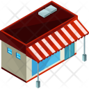 Food Stall Shop Icon