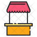 Food Stall Food Store Food Shop Icon