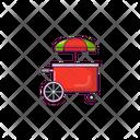 Stall Food Market Icon