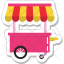 Food Stand Stall Icon
