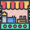 Food Stalls Icon