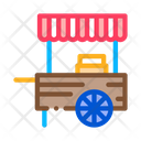 Mobile Food Stalls Icon
