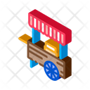 Mobile Food Stalls Icon