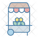 Food Stand Street Food Stand Food Shop Icon