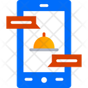 Chat Online Ordering Support App Icon