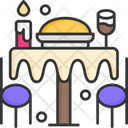 Food Table Icon