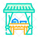 Food Tent Tent Buffet Icon