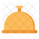 Food Tray Food Cover Cloche Icon