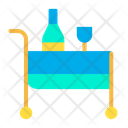 Food Trolly Food Food Servive Icon