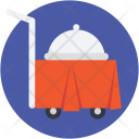 Hotel Trolley Room Icon
