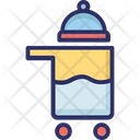Hotel Trolley Room Service Food Trolley Icon