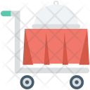 Food Trolley Hotel Icon