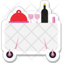 Food Trolley Restaurant Icon