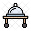Food Trolley Dish Icon