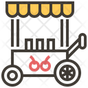 Food Trolley Icon