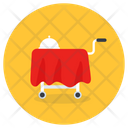 Food Service Food Trolley Room Service Icon