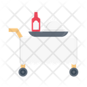 Food Trolley Food Serving Foodtrolley Icon