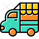 Food Truck Sell Icon