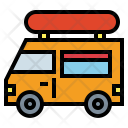 Foodtruck Van Fastfood Icon