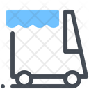 Food Truck Truck Market Icon