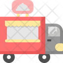Food Truck Shop Icon