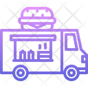 Truck Burger Fast Icon