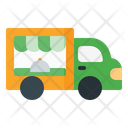 Food Truck Food Vehicle Transportation Icon