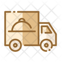 Food Truck Food Delivery Restaurant Icon