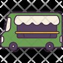 Food Truck Car Icon