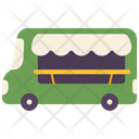 Food Truck Car Icon