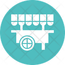 Food Stand Food Truck Food Vending Icon