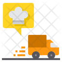 Delivery Truck Delivery Truck Food Transport Icon