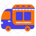 Food Truck Transport Transportation Icon