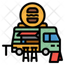 Foodtruck Trucking Food Icon