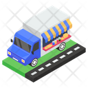 Food Truck Food Delivery Delivery Van Icon