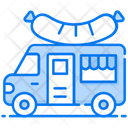 Food Truck Food Delivery Fast Food Icon